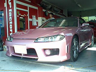 S15シルビア 全塗装 2コートパールピンク